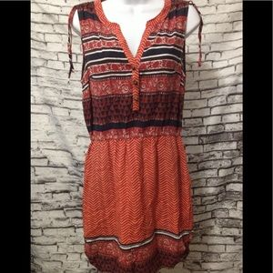 Lucky Brand boho dress with pockets